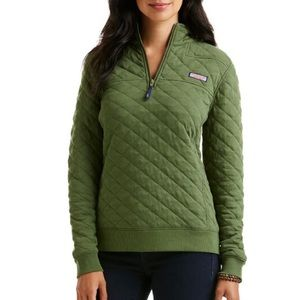 VINEYARD VINES Allover quilted shep shirt